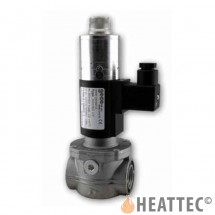 Geca gas valve slow opening fast closing