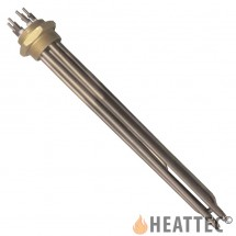 Immersion Heater Copper with 3 U-shaped Ø8 elements