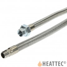 Flexible Gas Hose Stainless Steel 3/4""