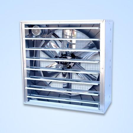 Sama Axiaal ventilator unit, SA 48, 30900-36400 m³/h.